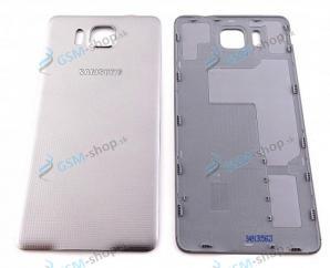 Kryt Samsung Galaxy Alpha G850F batérie strieborný Originál