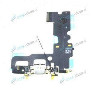 Flex iPhone 7 pre nabíjanie šedý Originál