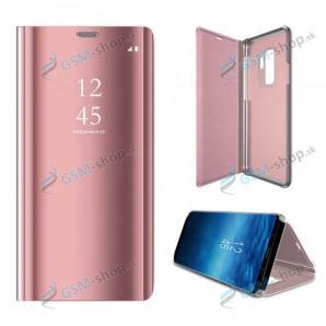 Púzdro CLEAR VIEW Samsung Galaxy A12 (A125) ružové