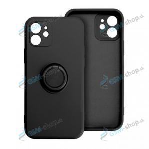 Púzdro SILICONE RING iPhone 7, 8, SE 2020 čierne