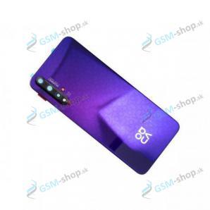 Kryt Huawei Nova 5T batérie zadný fialový Originál