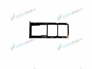 Sim a Micro SD držiak Huawei Y7 2018, Y7 Prime 2018 čierny Originál