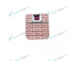 Klávesnica Nokia 7360 ružová Originál