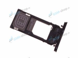 Sim a Micro SD držiak Sony Xperia X Compact čierny Originál