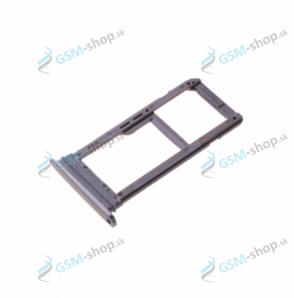 Sim a microSD držiak Samsung Galaxy S7 Edge (G935) čierny Originál
