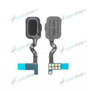 Flex Samsung Galaxy A6 2018 (A600) a snímač odtlačku prsta čierny Originál