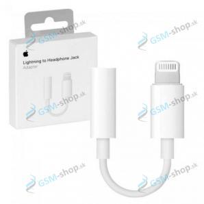 Audio adaptér MMX62ZM iPhone Lightning a 3,5mm biely blister Originál