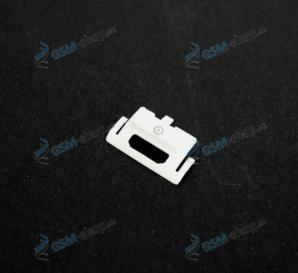 Tlačidlo Nokia 6300 pre zapínanie biele Originál