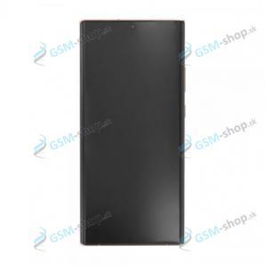 LCD displej Samsung Galaxy Note 20 Ultra 5G (N986) a dotyk bronzový s krytom Originál