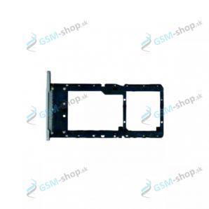 SIM a SD držiak Samsung Galaxy Tab A7 Lite LTE (T225) strieborný Originál