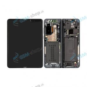 LCD Samsung Galaxy Fold (F900) a dotyk s krytom čiernym Originál