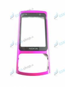 Kryt Nokia 6700 Slide predný ružový Originál