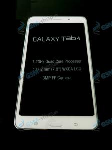 LCD Samsung Galaxy Tab 4 7.0 T235 a dotyk biely s krytom Originál