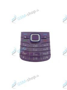 Klávesnica Nokia 6220 Classic fialová Originál
