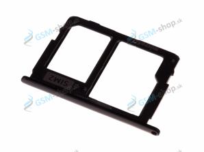 Sim a microSD držiak Samsung J530, J730 čierny Originál