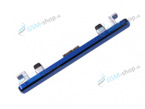 Tlačidlo Huawei Honor 10 pre hlasitosť modré Originál