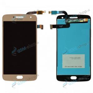 LCD displej Motorola Moto G5 Plus a dotyk zlatý OEM