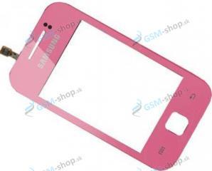 Sklíčko Samsung S5360 a dotyková plocha ružová Originál
