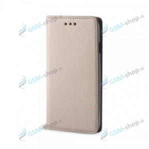 Púzdro Samsung Galaxy S6 (G920F) knižka magnetická zlatá