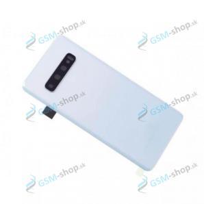 Kryt Samsung Galaxy S10 (G973) batérie biely Originál