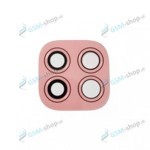 Sklíčko kamery Motorola Moto G9 Play (XT2083) ružové Originál
