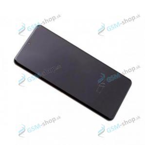 LCD Samsung Galaxy S20 Ultra (G987, G988) a dotyk s krytom čiernym Originál