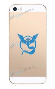 Púzdro silikón pre iPhone 6, iPhone 6s GO Blue priesvitné