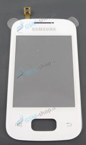 Sklíčko Samsung S5300, S5302 a dotyk biely Originál