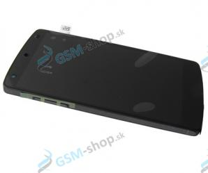 LCD LG D821 Nexus 5 a dotyková plocha s krytom čiernym Originál