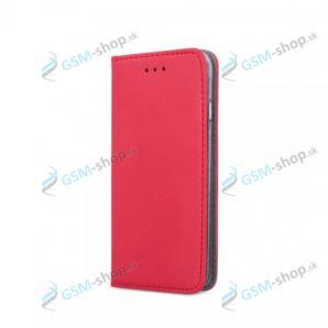 Púzdro Samsung Galaxy A02s (A025) knižka magnetická červená