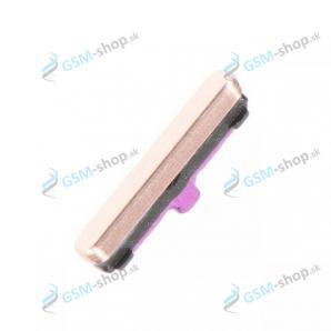 Tlačidlo Samsung Galaxy S10 (G973), S10 Plus (G975) pre zapínanie keramickú biele Originál