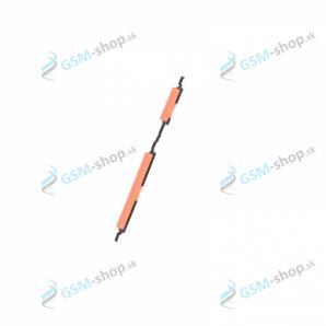 Tlačidlo Samsung Galaxy A20e pre zapínanie a hlasitosť Coral Originál