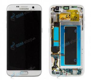 LCD Samsung Galaxy S7 Edge G935F a dotyk biely s krytom Originál