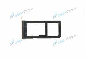 Sim a microSD držiak Samsung Galaxy S7 Edge (G935) modrý Originál