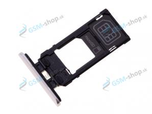 SIM a Micro SD držiak Sony Xperia 5 šedý Originál