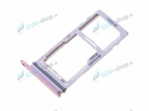 Sim a SD držiak Samsung Galaxy Note 9 N960F fialový Originál