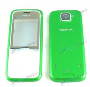 Kryt Nokia 7310 Supernova predný a zadný zelený Originál