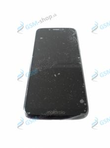 LCD displej Motorola Moto G7 Play (XT1952) a dotyk čierny s krytom Originál