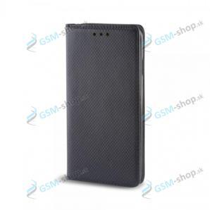 Púzdro Samsung Galaxy A02s (A025) knižka magnetická čierna