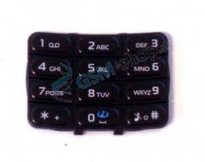 Klávesnica Nokia 5200, 5300 veľká čierna Originál