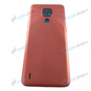 Kryt Motorola Moto E7 (XT2095) zadný červený Originál