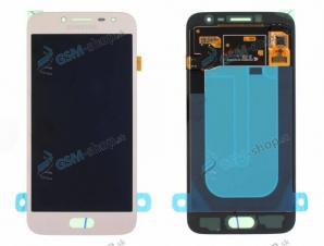 LCD Samsung J250 Galaxy J2 Pro 2018 a dotyk zlatý Originál