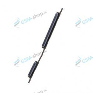 Tlačidlá hlasitosti a zapínania Samsung Galaxy A10 (A105) čierne Originál