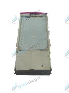 Stred Nokia X3-02 predný ružový Originál