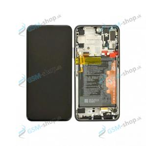 LCD Huawei Honor 9X Pro a dotyk s krytom čiernym Originál