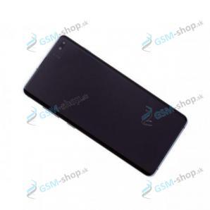 LCD Samsung Galaxy S10 Plus (G975) a dotyk s krytom modrým Originál