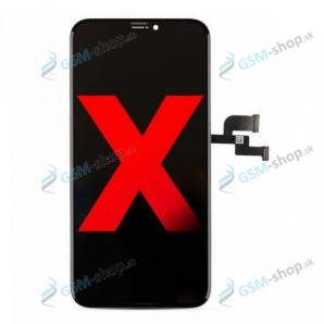 LCD iPhone X a dotyk čierny OLED Hard