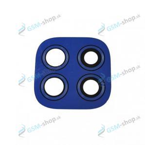 Sklíčko kamery Motorola Moto G9 Play (XT2083) modré Originál