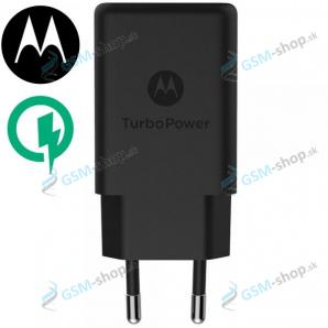 USB adaptér do siete Motorola SC-52 QC 3.0 (18W) Originál čierny