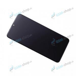 LCD displej Samsung Galaxy A20s (A207F) a dotyk čierny s krytom Originál